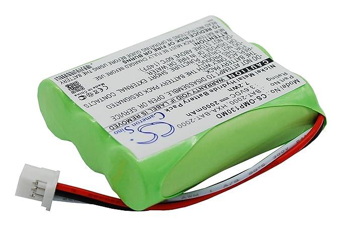 Cameron Sino 2000 mAh, 7,20 wh batería de repuesto para OMRON HBP-1300 tensiómetro: Amazon.es: Electrónica