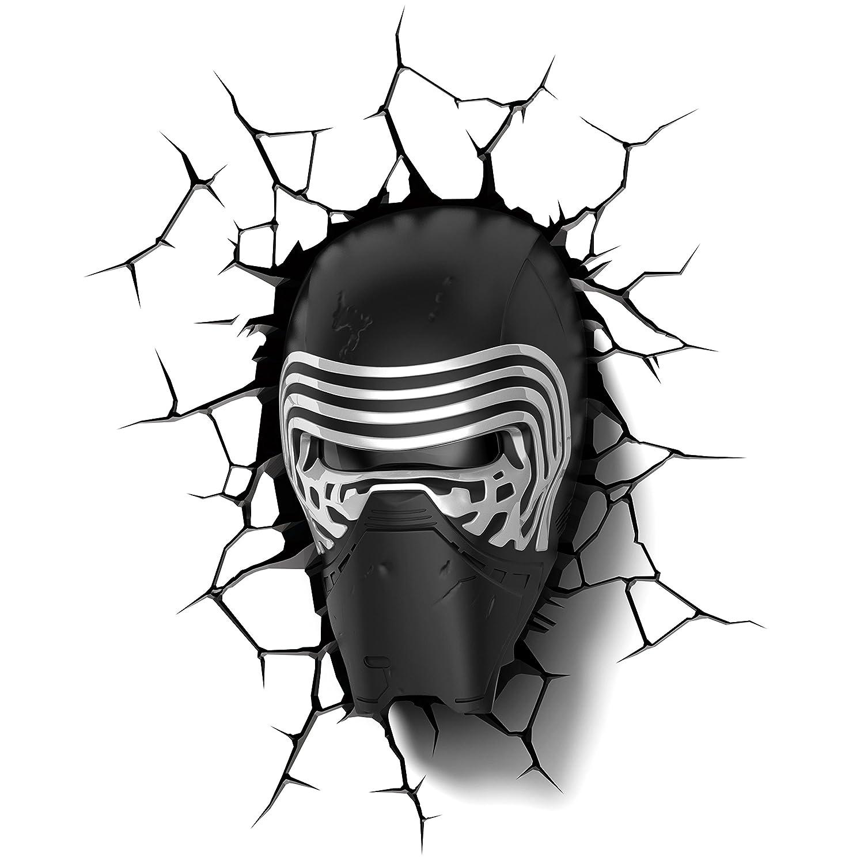 3D Light FX Star Wars Kylo Ren- Lámpara 3D SW Kylo Ren 14241 3DFX-02018_Multicolore
