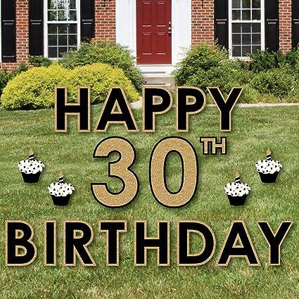 Amazon Big Dot Of Happiness Adult 30th Birthday