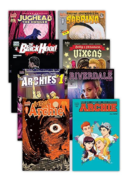Archie Comics Book Value Pack - Archie Jughead Sabrina Betty Veronica and  More (Includes 26 Comics)