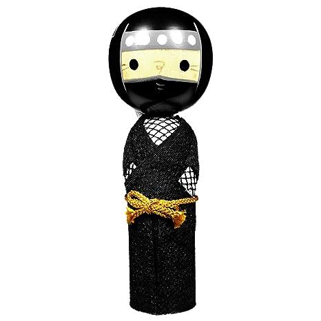 Amazon.com: Mino Washi Handcrafted Japanese Kokeshi Wooden ...