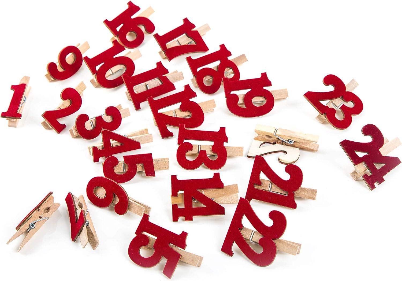 Artemio Numeri in Feltro per Calendario dellavvento