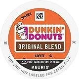 Dunkin' Donuts Original Blend Medium Roast Coffee, 88 K Cups for Keurig Coffee Makers