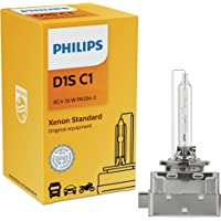 Philips D1S Standard Authentic Xenon HID Headlight Bulb, 1 Pack