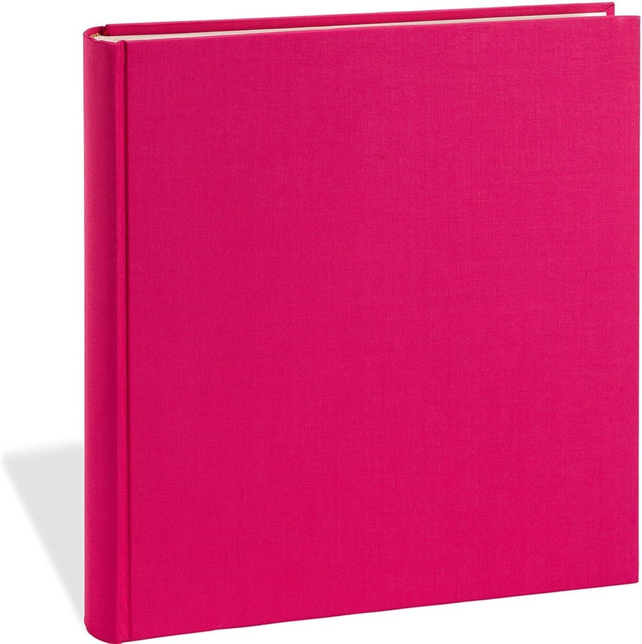 ALBUM pour ENCOLLER DES PHOTOS 20 feuilles de papier cartonn/é noir + qualit/é originale Semikolon + + Album /à spirales economy Economy moyen marron