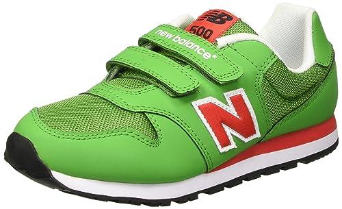 new balance niño verde velcro