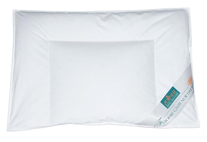 Zollner Set de edredón y almohada de cuna, plumón y pluma, 40x60-100x135 cm