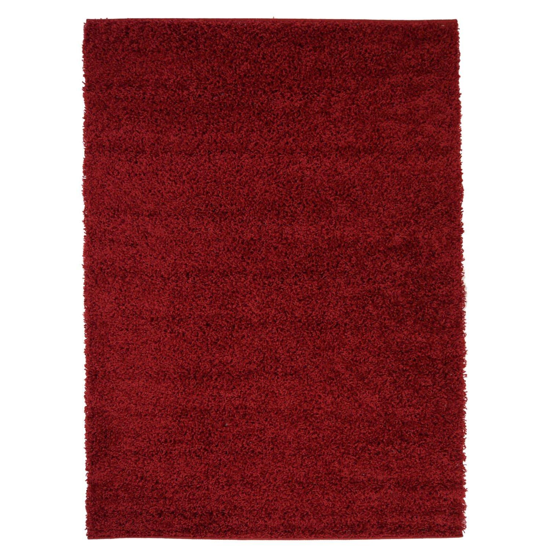 Shaggy Hochflor Teppich Flokati Langflor Weich in 9 9 9 Farben Einfarbig Moderner Wohnzimmerteppich, Größe in cm 140 x 200 cm;Farbe Braun B073G9Y29N Teppiche 893fed