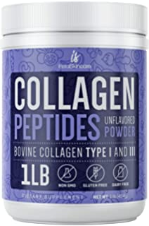 Amazon.com: BioOptimal Collagen Powder, Collagen Peptides ...
