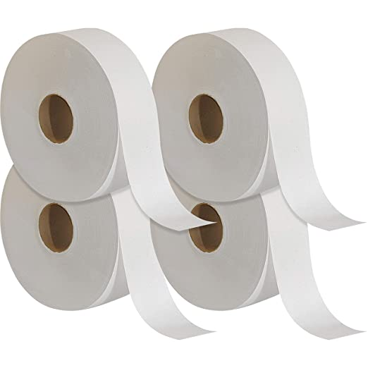 Hotel Soft Toilet Roll Paper for Market ORIA Jumbo Toilet Paper Toilet 1 Roll Washroom Commercial Jumbo Roll Paper 700g Bathroom Tissue