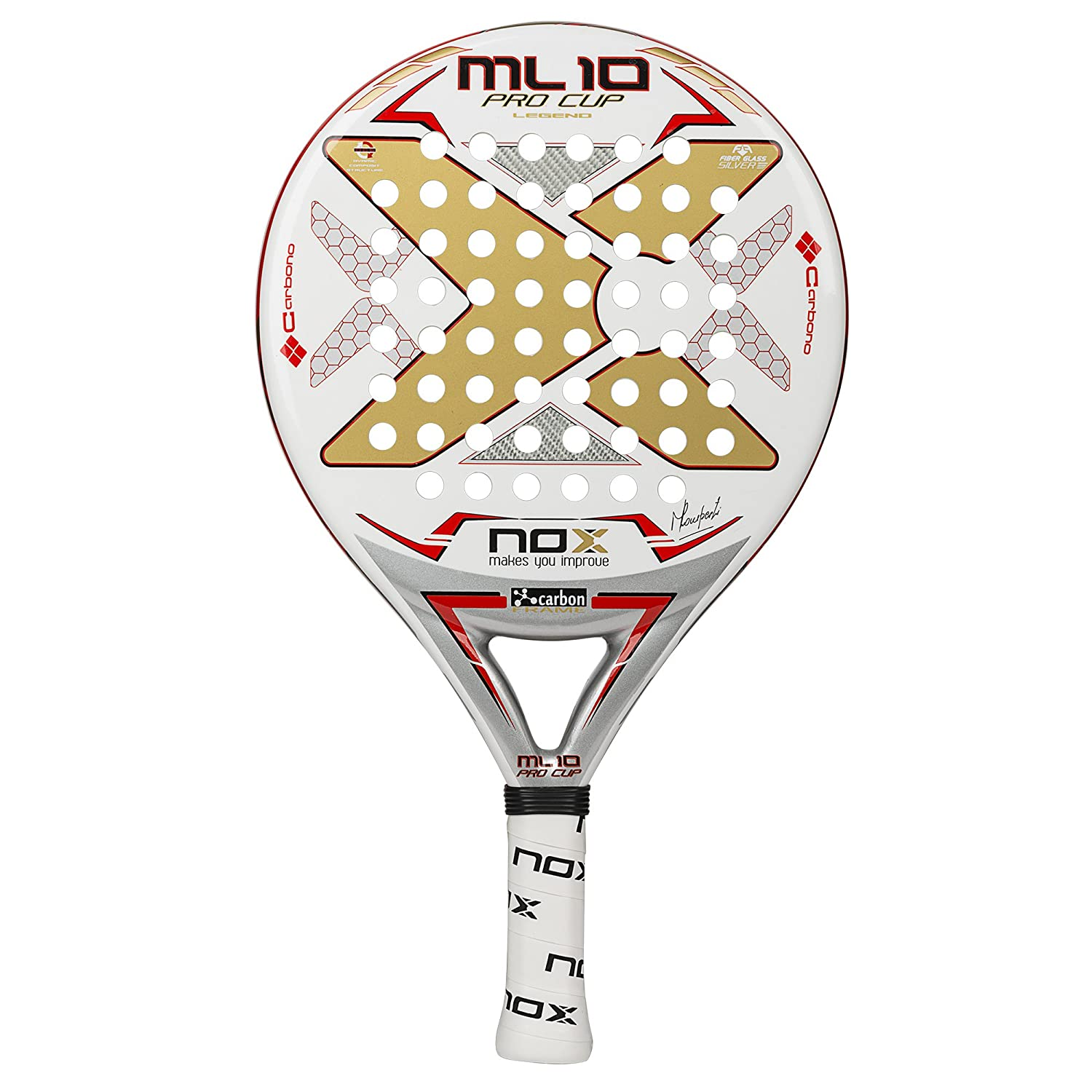 Amazon.com : NOX ML10 Pro Cup Padel Racket : Sports & Outdoors