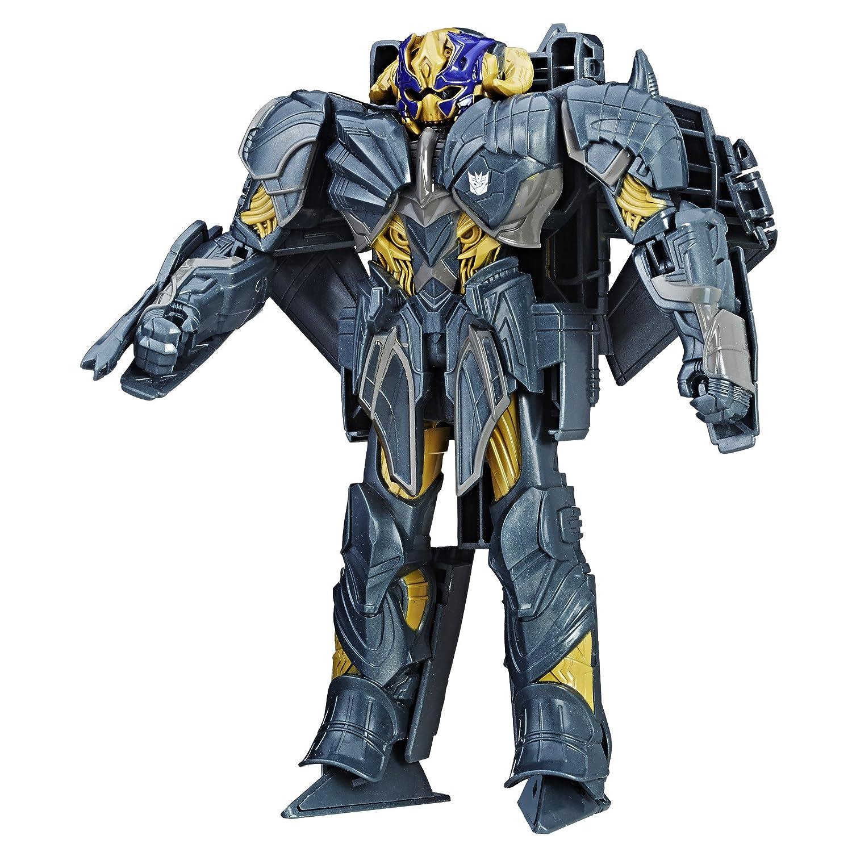 Transformers MV5 Turbo Cambiador Megatron Figura de acción: Amazon.es: Juguetes y juegos