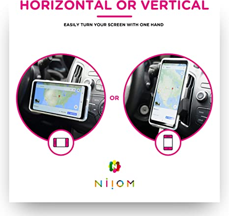 Niiom Handyhalterung Auto Lüftung Kfz Halterung Mit Elektronik