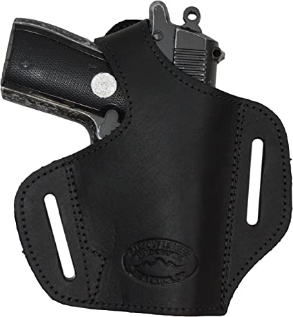 NEW Barsony Black Leather Dbl Mag Pouch for Smith /& Wesson Mini//Pocket 22 25 380