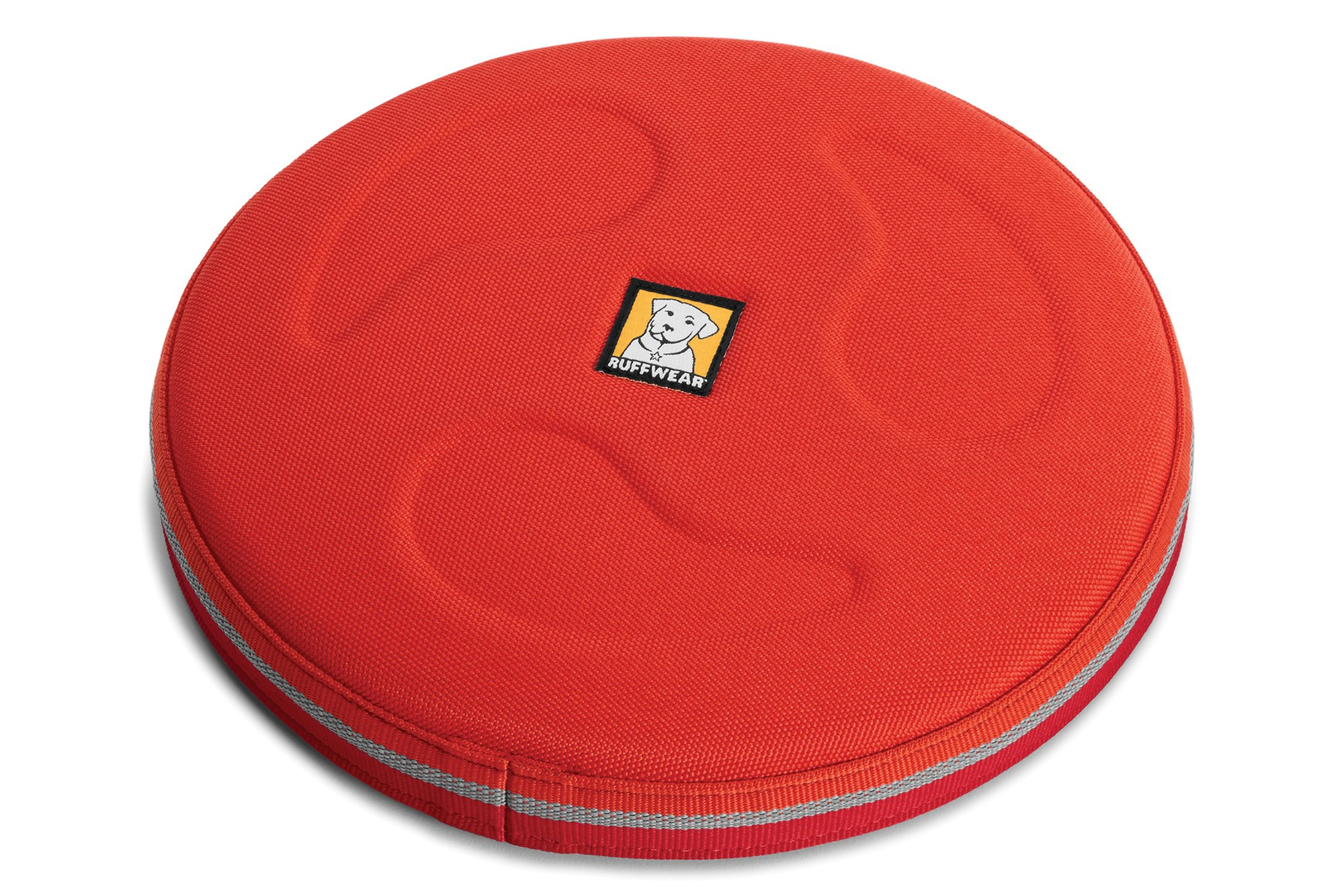 RUFFWEAR - Hover Craft Flying Disc for Dogs, Sockeye Red, Large