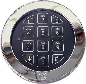 Electronic Digital Keypad Lock for Safes, (NL-Lock EM20-25) Swing Roto-Bolt Safe Lock UL Listed. Standard Footprint to Replace S&G, LaGard, Securam