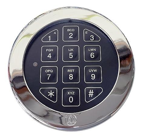 Electronic Digital Keypad Lock for Safes, (NL-Lock EM20-25) Swing Roto-Bolt  Safe Lock UL Listed  Standard Footprint to Replace S&G, LaGard, Securam