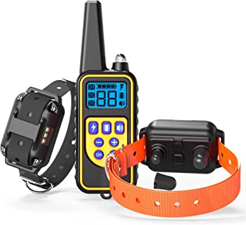 Veckle Waterproof Dog Training Collar 2-Pack