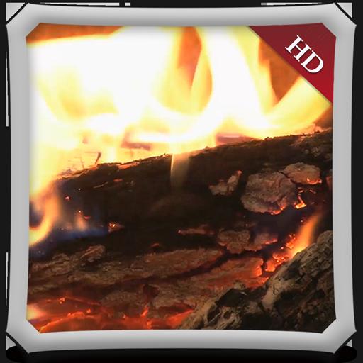 Romantic Fireplace HD - Wallpaper & Themes ()