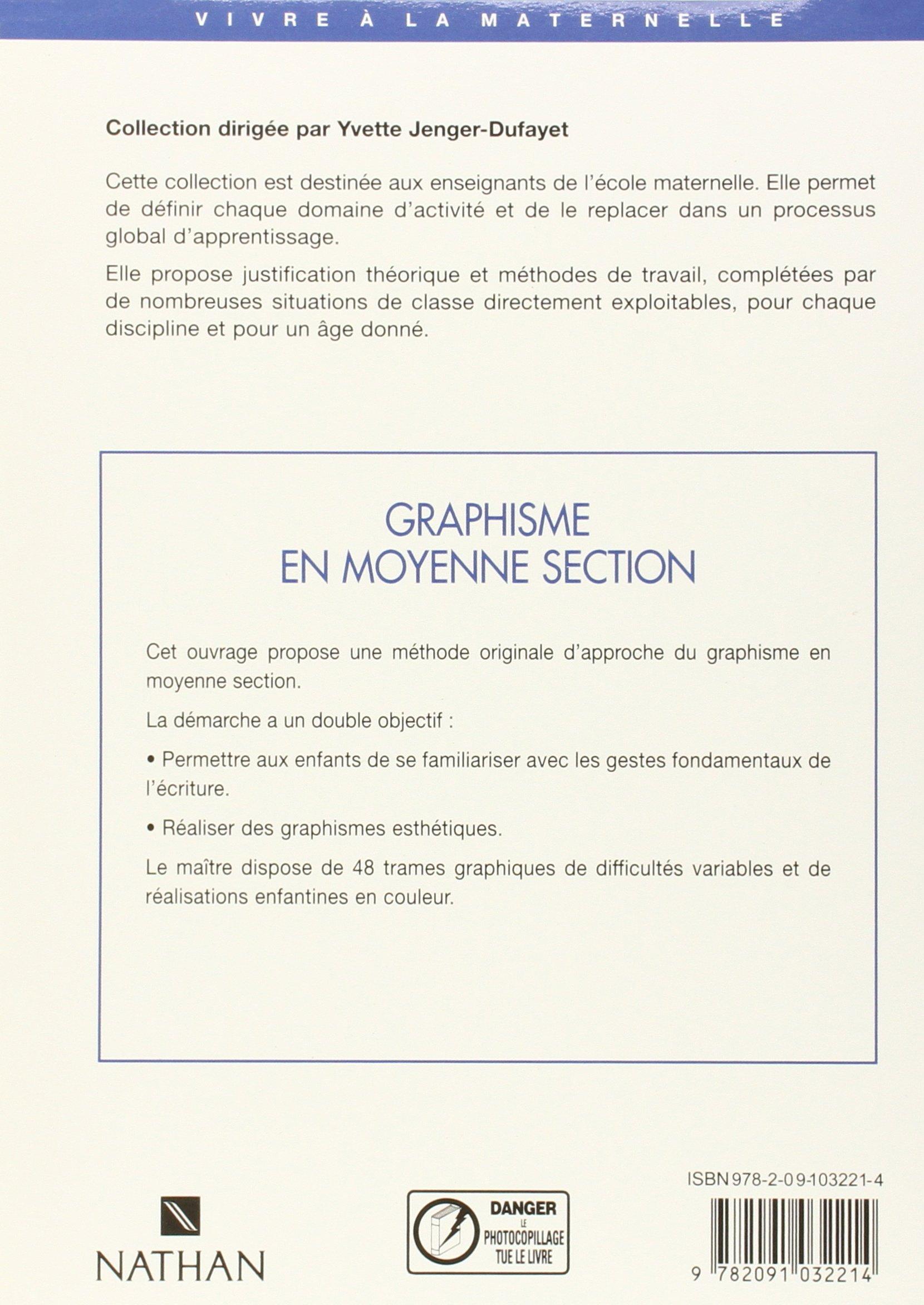 Super Graphisme en moyenne section: Amazon.fr: Henriette Denat, Yvette  XI13