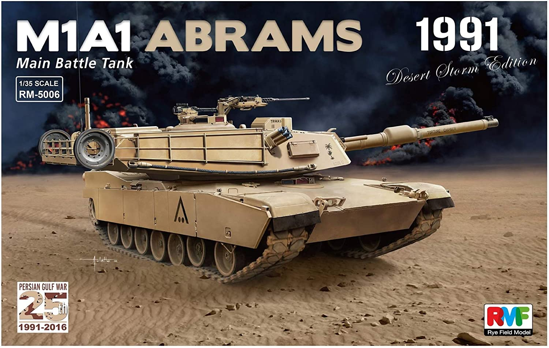 'Rye Field Model Replacement 5006 – Model Kit M1 A1 Abrams Gulf War 1991