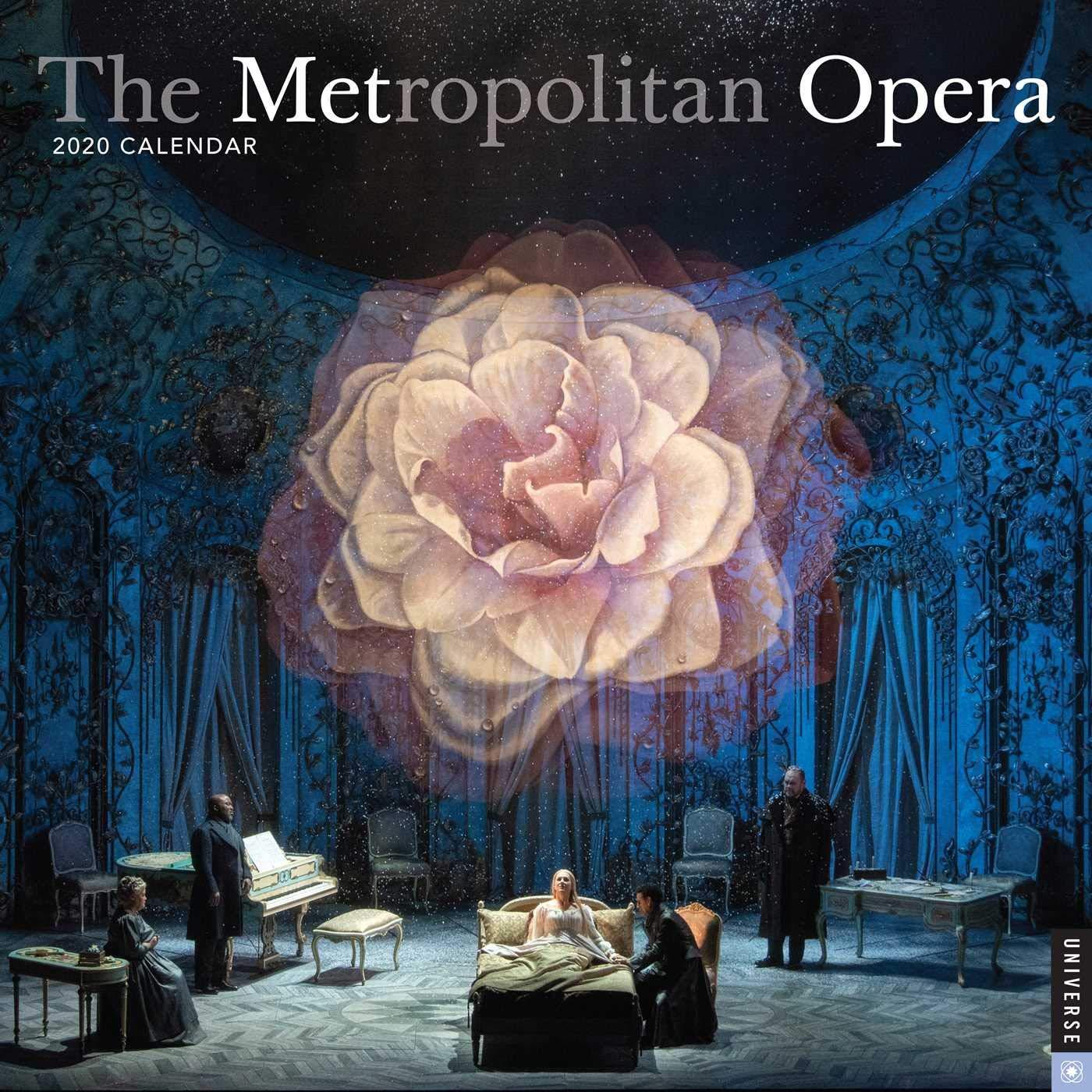 The Metropolitan Opera 2020 Wall by Universe Publishing