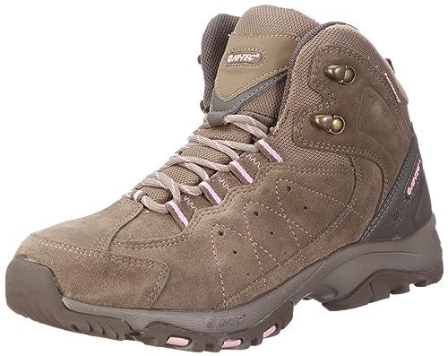 Hi Tec Lynx Trail Mid WP HTO001111 - Botas de ante para mujer, Marrón, 41: Amazon.es: Zapatos y complementos