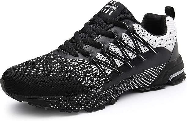 SOLLOMENSI Zapatillas de Deporte Hombres Running Zapatos para Correr Gimnasio Sneakers Deportivas Padel Transpirables Casual Montaña: Amazon.es: Zapatos y complementos