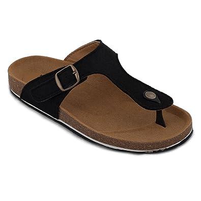 4bebbd1a648 nae Kos Pet Black - Women s Vegan Sandals  Amazon.co.uk  Shoes   Bags