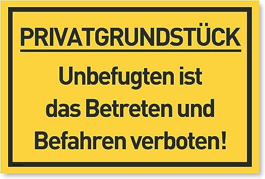 Privat Betreten verboten Aufkleber