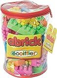 Ecoiffier - Construction - Sac Tube Abrick 50 Pièces