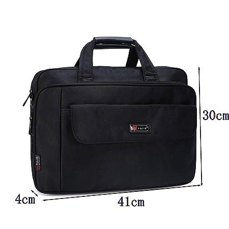 Bolso maletín para ordenador portátil de 15,6 pulgadas,gran capacidad, funda Elegante Bolsa Mensajero de Manija Maletín Tableta para portátiles MacBook Pro ...