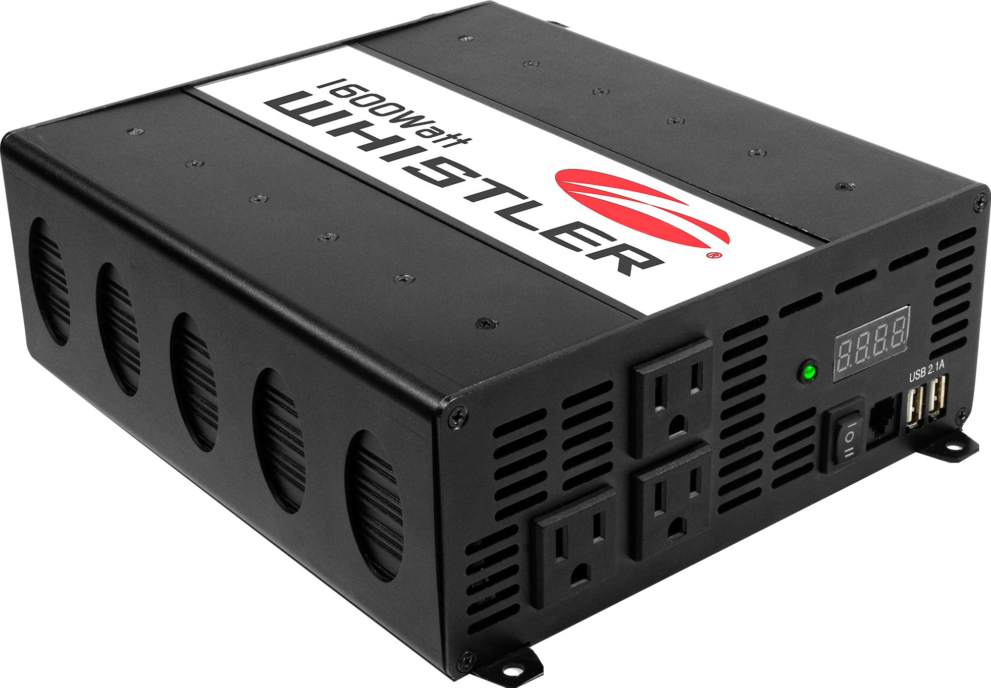 Whistler XP1600i Power Inverter: 1600 Watt Continuous / 3200 Watt Peak Power