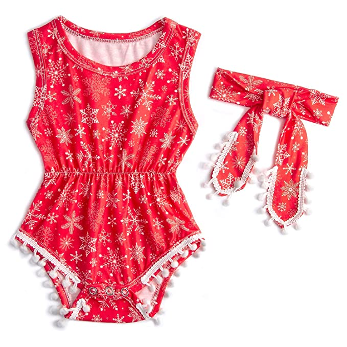 Amazon.com: Belovecol - Mono para bebé y niña sin mangas ...