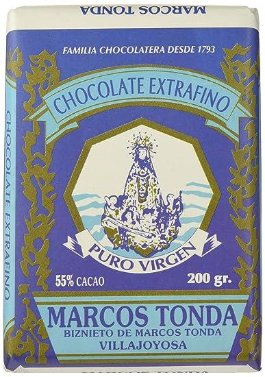Chocolates Marcos Tonda Chocolate Artesano Tradicional Puro ...