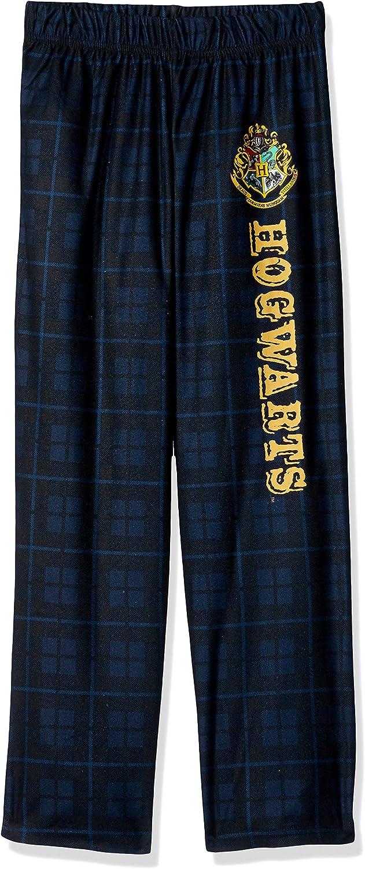 Red 10//12 Harry Potter Big Boys Harry Potter Gryffindor House Crest Plaid Pajama Sleep Pants