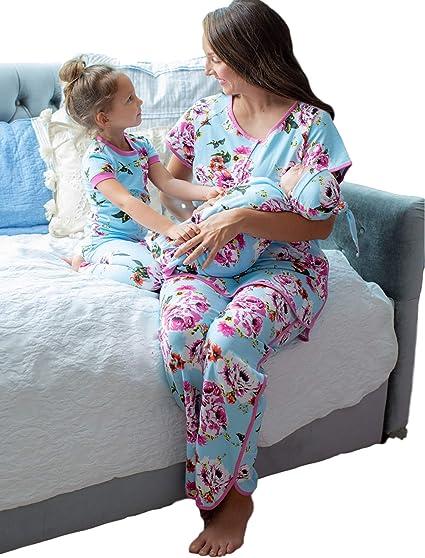 Baby Be Mine Juego de Pijama y Pijama a Juego para mamá y ...