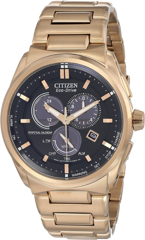Citizen Men s BL5483-55E Eco-Drive Perpetual Calendar Chronograph Watch