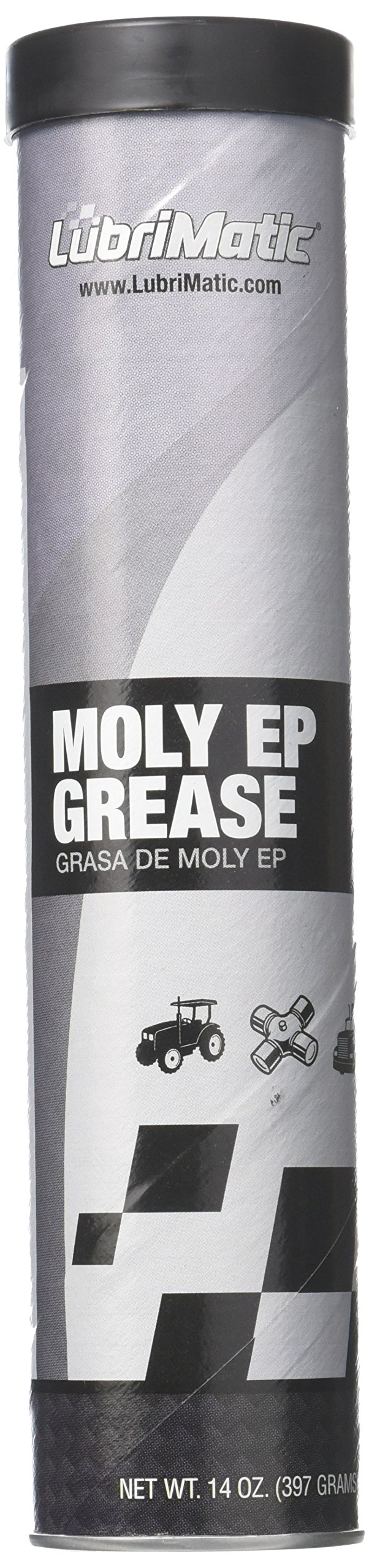 LubriMatic 11335 1 Pack Moly EP Grease, 14 Oz. Cartridge