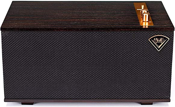 Klipsch The Three - Sistema estéreo de sobremesa, Marrón
