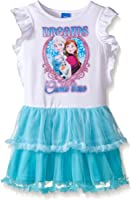 Disney Girls' White Frozen Tutu Dress