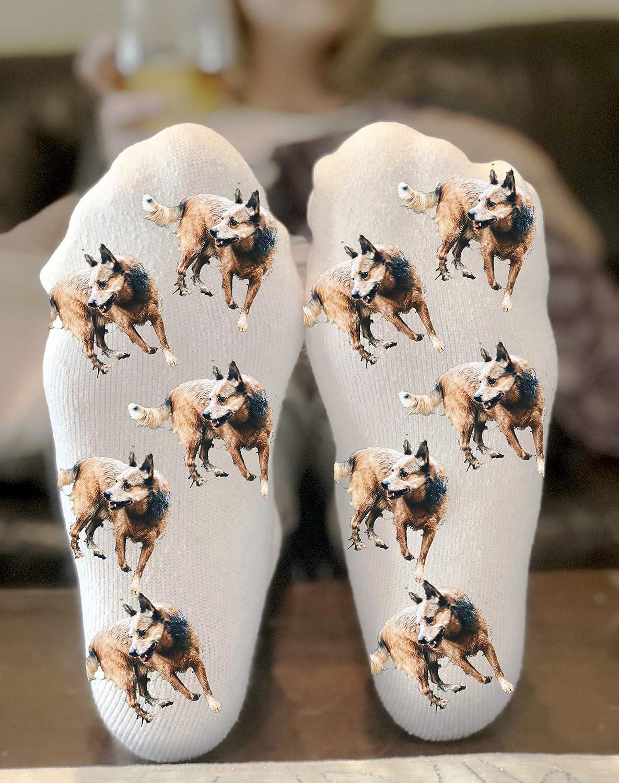 674085a25526d Amazon.com: Custom Dog Socks Personalized Gift Novelty Funky Crew ...