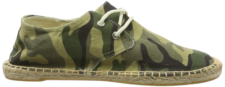 Kentti Espadrilles en Toile /à Motif de Camouflage pour Homme
