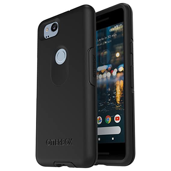 new product 00fc9 36971 OtterBox SYMMETRY SERIES Case for Google Pixel 2 - Retail Packaging - BLACK
