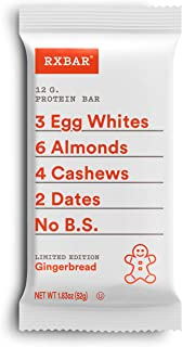 product image for Rxbar, Gingerbread Protein Bars, 1.83 Ounce, 12 Count