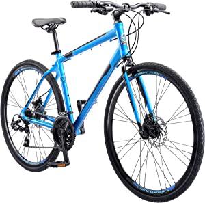 Schwinn Volare Adult Hybrid Road Bike, 28-inch Wheel, Aluminum Frame, Multiple Colors