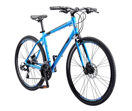 3844266449b Amazon.com: Schwinn Volare 1200 Men's Road Bike, 700C, Matte Blue ...