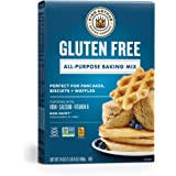 KING ARTHUR FLOUR Gluten Free All-Purpose Baking Mix, 24 Ounce, Pack of 6