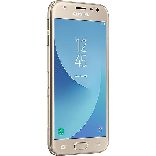 Samsung Galaxy J3 Smartphone de 5 2 GB RAM 16 GB Memoria Interna cámara de 13 MP Android Color Oro Versión Extranjera