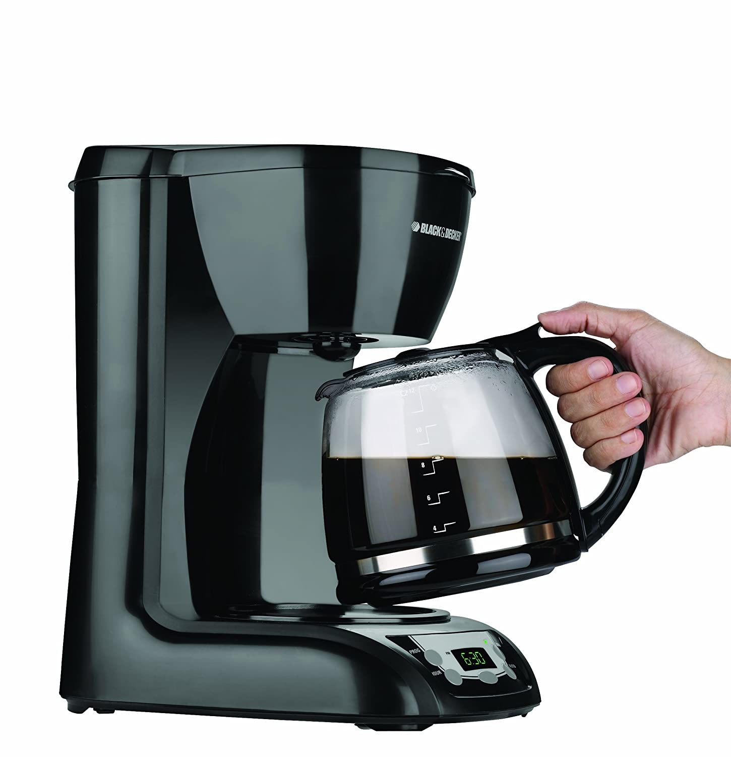 Black and decker coffee maker 12 cup programmable - Amazon Com Black Decker Cm1200b 12 Cup Switch Coffeemaker Black Drip Coffeemakers Kitchen Dining
